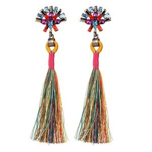 Jewelry - NEW boho tassel earrings
